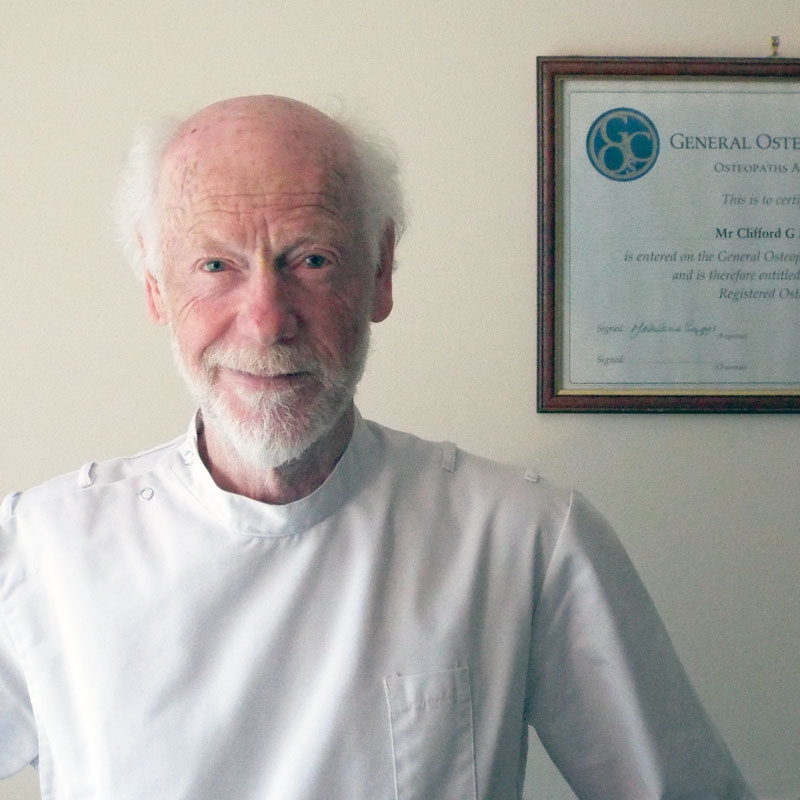 Cliff Lomas - Osteopath